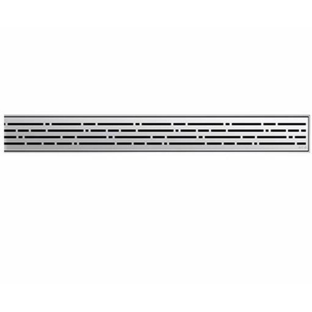 ACO ShowerDrain Mix stainless steel grate 47.25''
