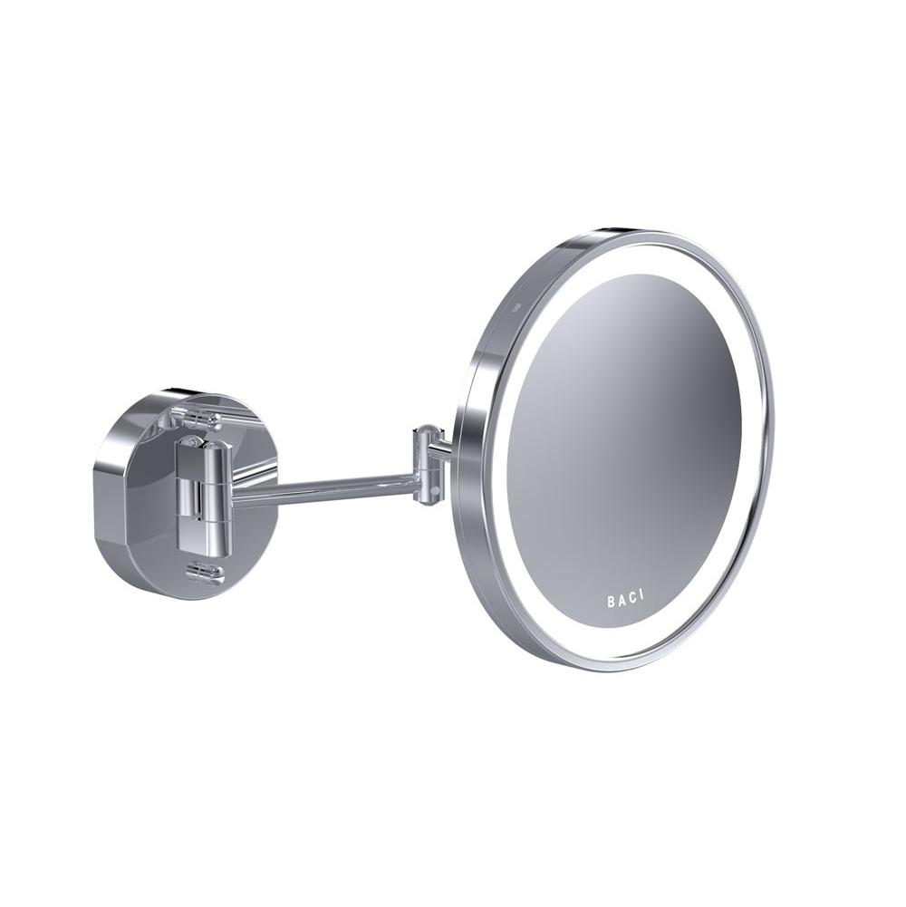 Baci Mirrors Baci Senior Double Arm Wall Mirror - Round