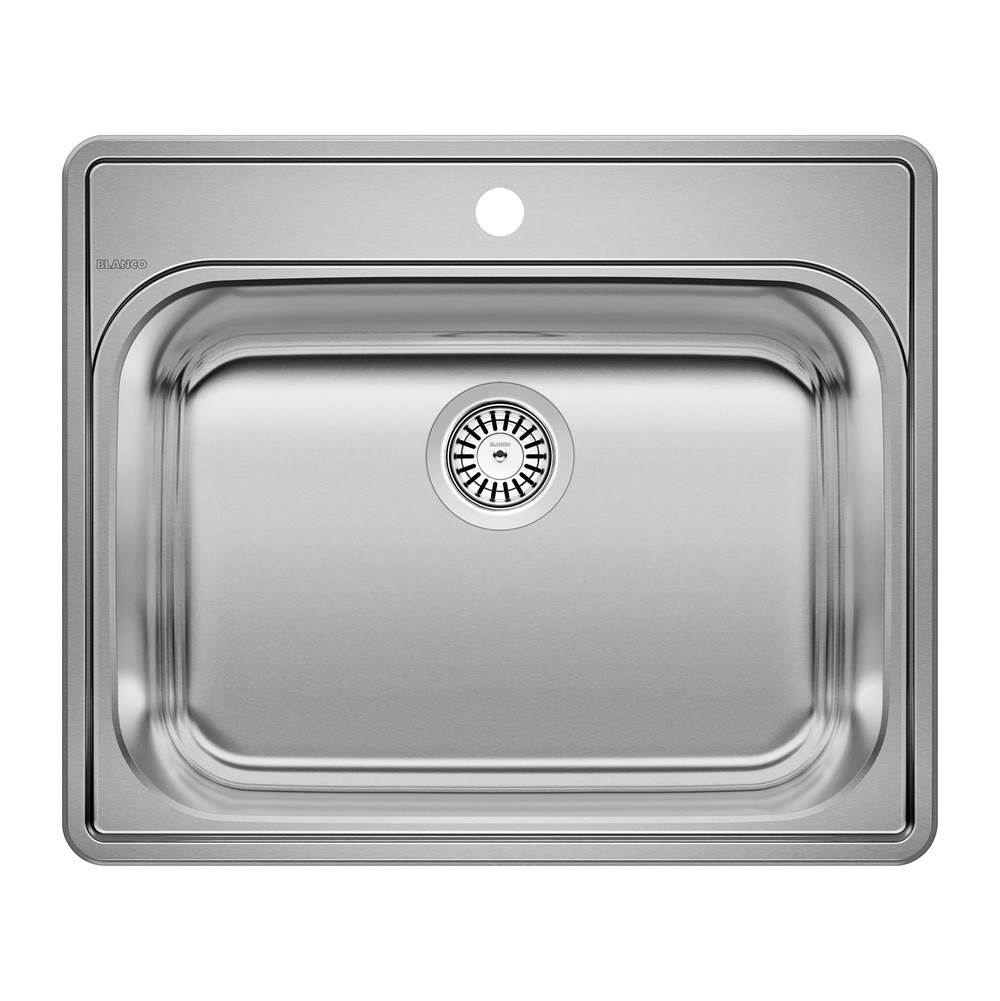 Blanco ESSENTIAL Stainless Steel Single Bowl (1-Hole) Laundry Sink
