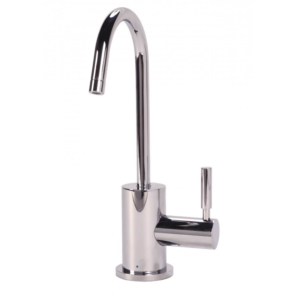 BTI Aqua Solutions Contemporary C-Spout Cold Only Filtration Faucet-Chrome