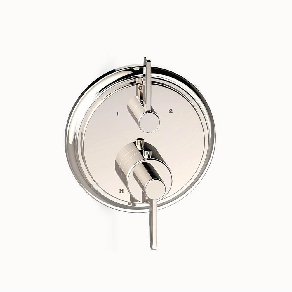 Crosswater London Darby Dual-control Thermostatic Valve Trim with Volume Control and Diverter
