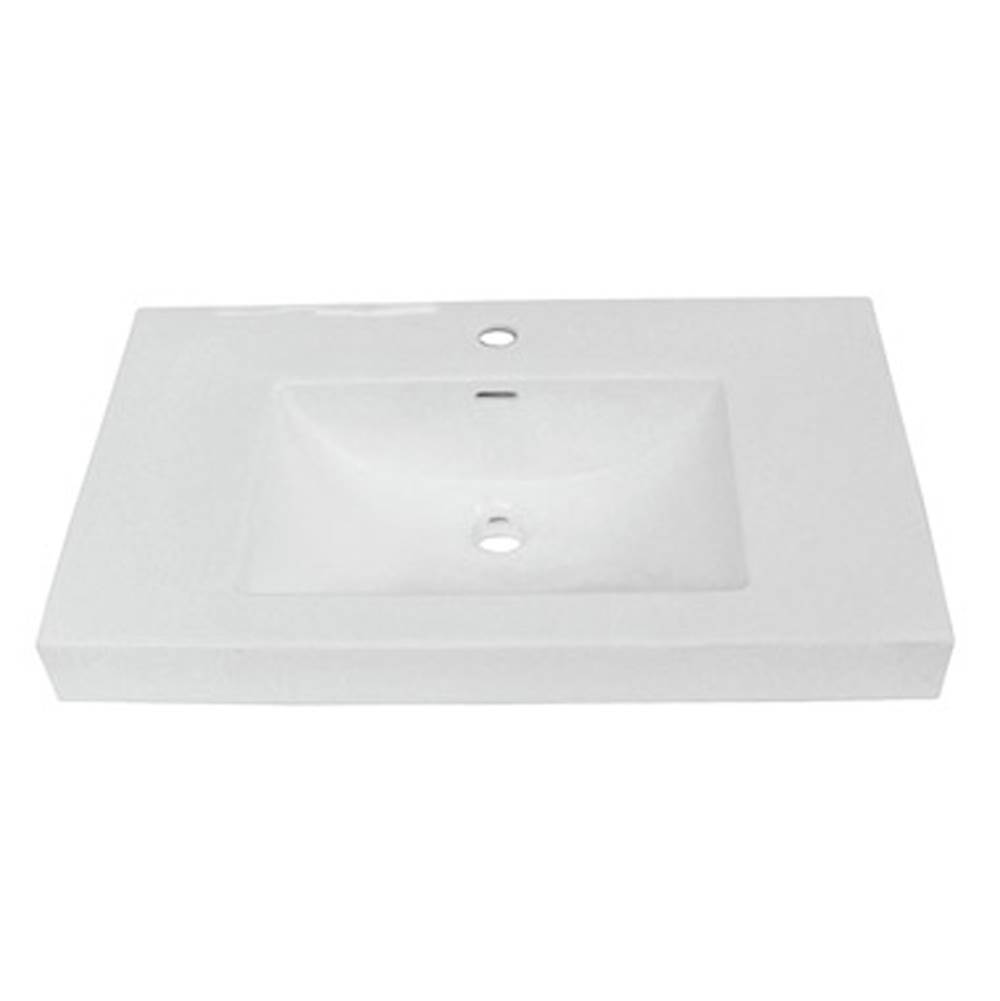 Fairmont Designs 30x18'' White Ceramic Sink