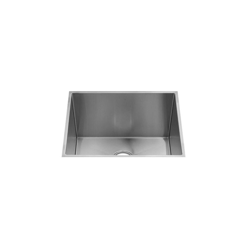 Home Refinements by Julien J7® Collection Undermount with single bowl