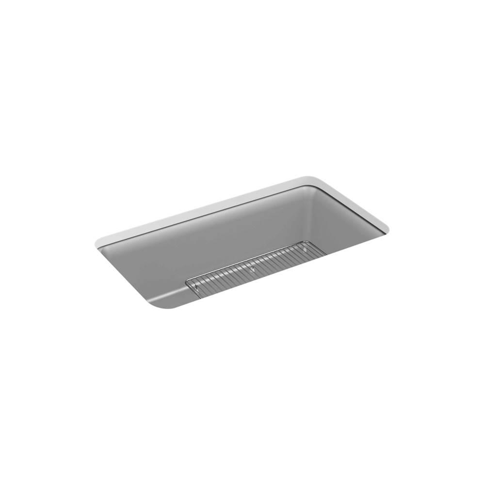 Kohler 8206-CM4 at SplashWorks Undermount Kitchen Sinks in a ...