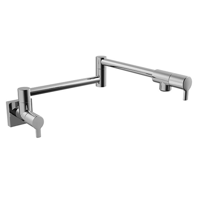 KWC Ava Pot Filler Wall Mounted - Satin