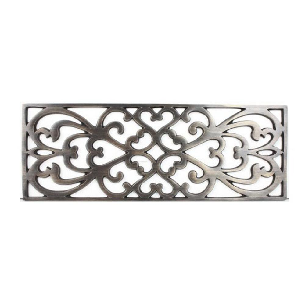 Linkasink Filigree - Tiffany Grate Polished White Bronze
