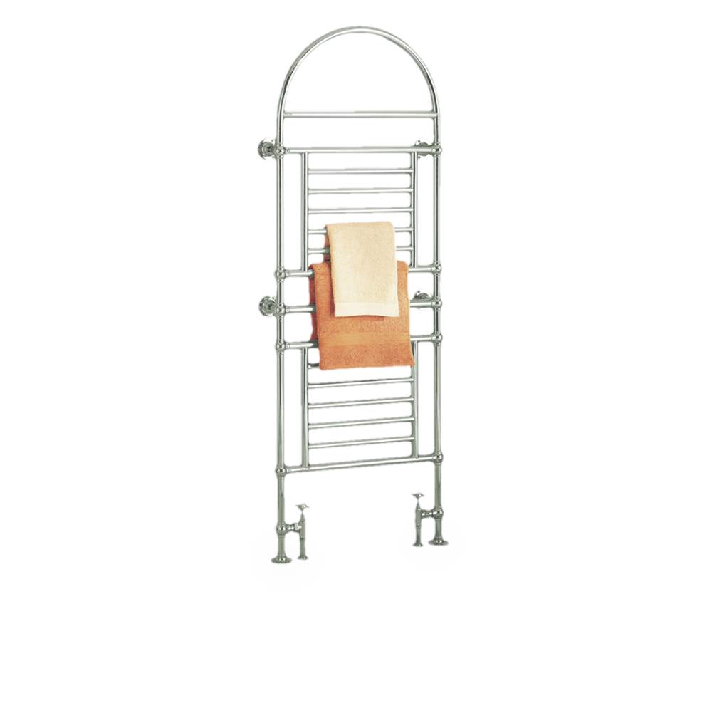 Myson B49 Regal BrassHydronic 74''H x 27''W Valves not incl. ''Special Order Item''..This towel warmer is...