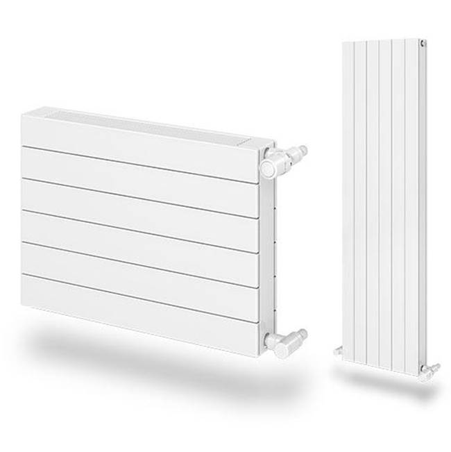 Myson Decor Flat Tube Style 32''H x 5''-11''L Radiator 3787 BTUH/Ft. (includes plug & vent) ''Special Orde...